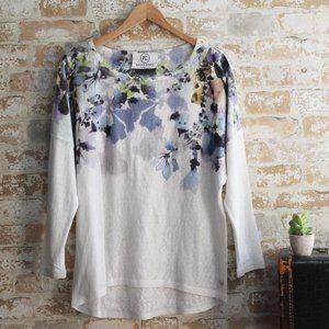 Point Zero Lightweight Floral Sweater L